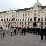Hofburg Wien, im Innenhof