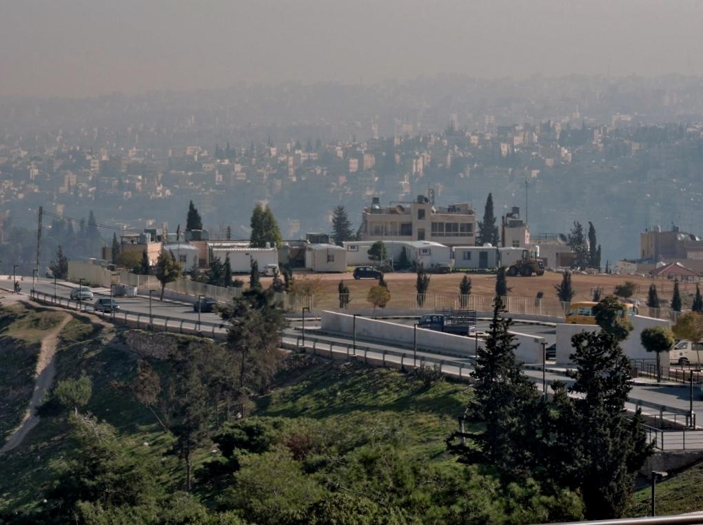 Blick auf Königspalast _Amman_Reisen