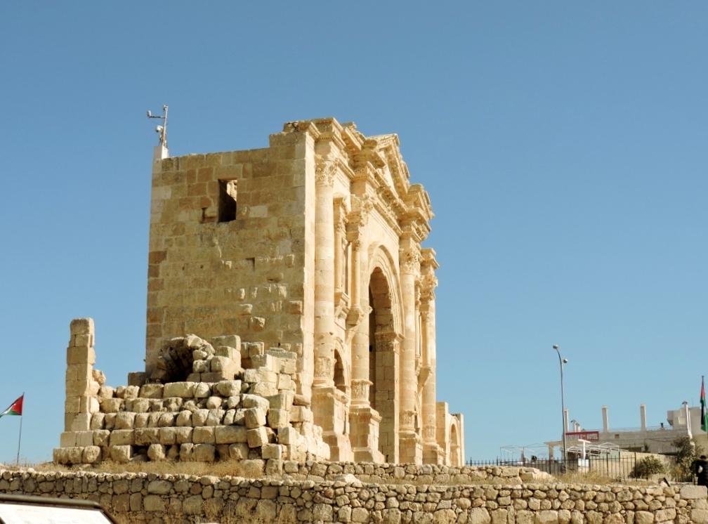 Zitadelle von Amman zum Toten Meer