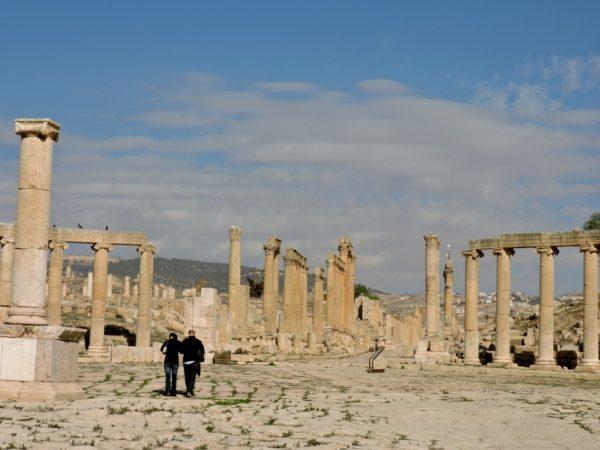 Auf biblischen und antiken Spuren zu Tempelanlage