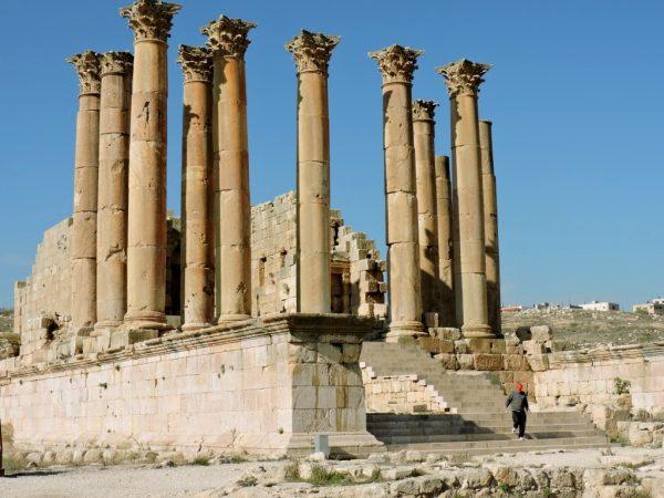 antiker Tempel von Jerash_Jordanien_reisen mit kultur