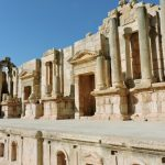antikes Theater, Jerash in Jordanien