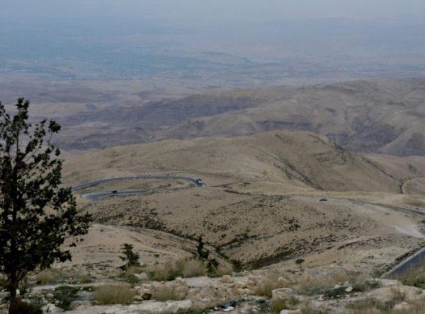 Blick vom Mount Nebo in Jordanien