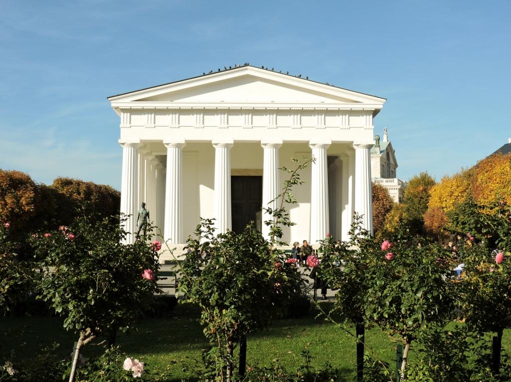 Pantheon im Volksgarten, I love Vienna