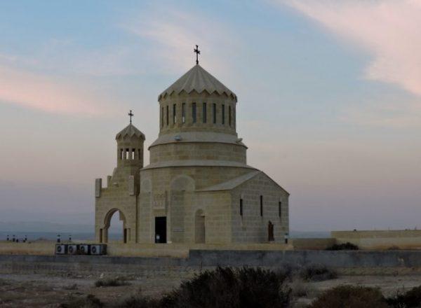Impression vom Jordanlan mit Kirche