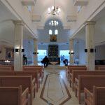 Innen-Ansicht der Taufkirche von Bethanien_Jordanien