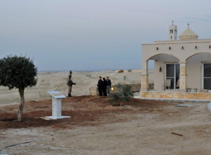 Teilansicht der Taufkirche, Bethanien im Jordanland