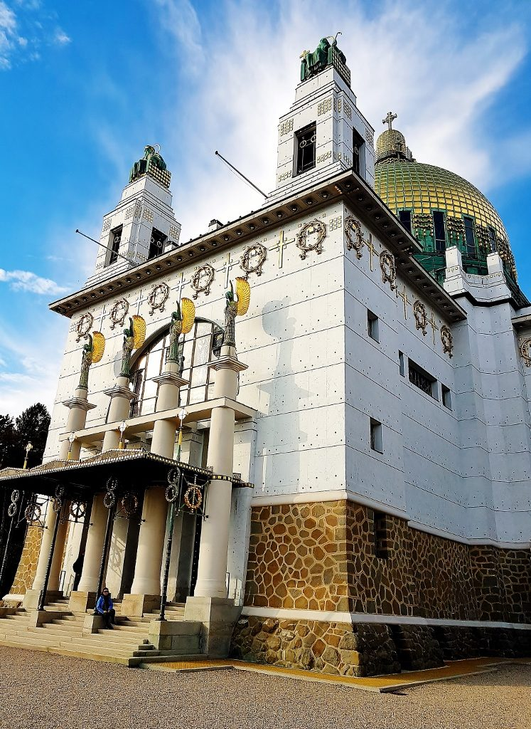 Kirche, Ausflug in Wien Jugendstil Architektur
