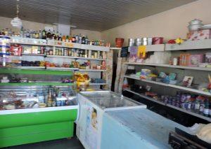 Kleiner Supermarkt in Butuceni, Moldawien