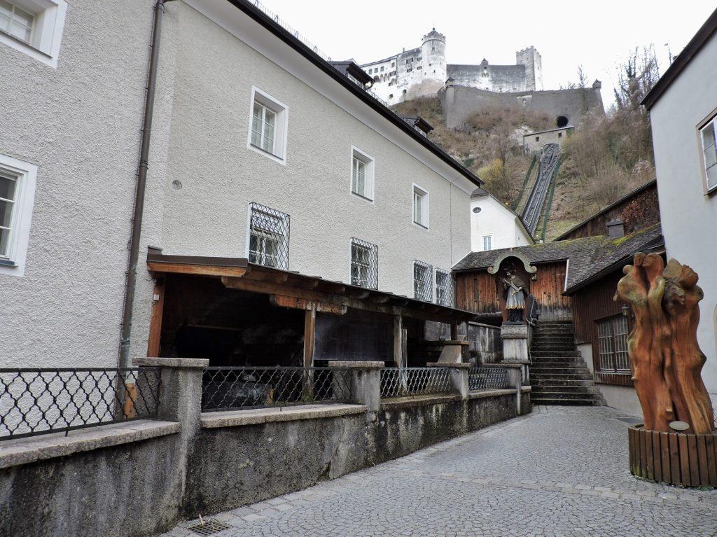 Haus mit Mühle von Stift St. Peter in Salzburg