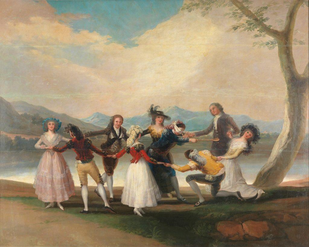 Gemälde ein Fest darstellend_Kultur