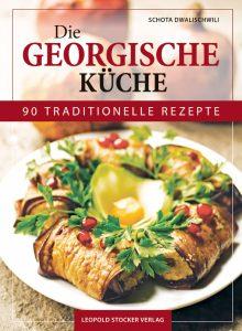 Cover eines Kochbuchs für georgische Küche