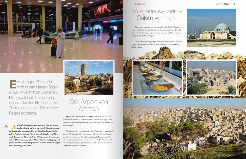 Amman - Moderne trifft Antike in Jordanien