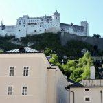 Blick auf Festung, Salzburg Kultur
