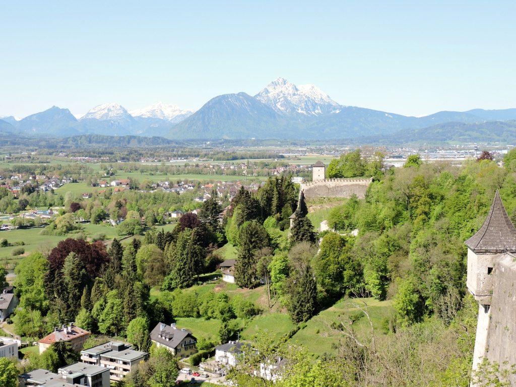 Ausblick von Festung, Kulinarik in Salzburg