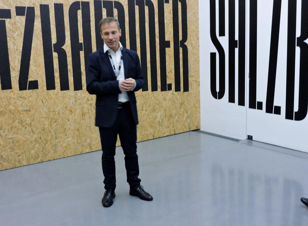 Salzburg Museum mit Direktor