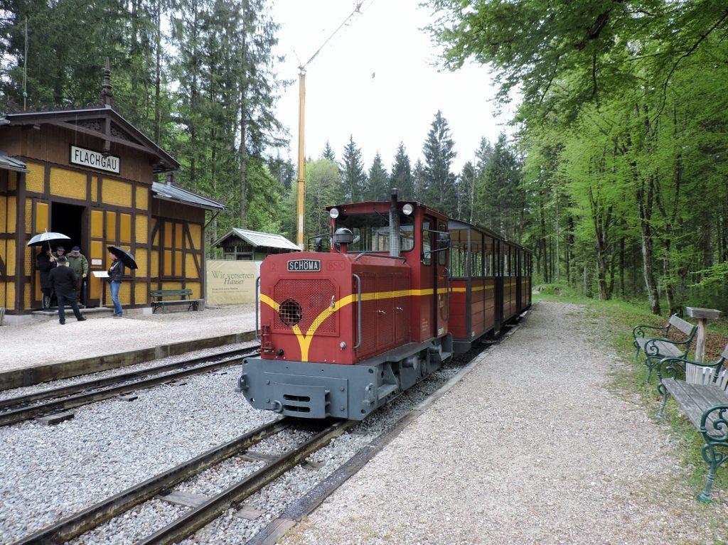 Reisen mit der Schmalspurbahn