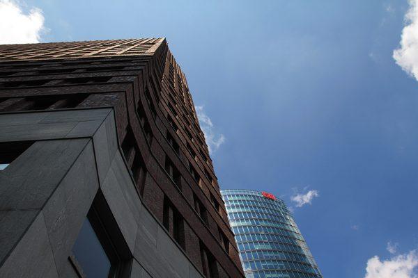 Kollhoff-Tower und Der Bahntower_Berlin