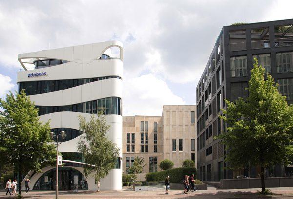 futuristischer Hotspot Berlin