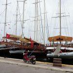 Marina mit Booten_Ägäis