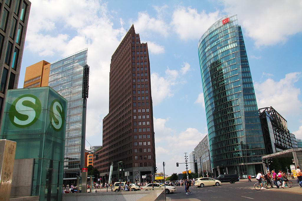 Potsdamer Platz, Berlin - hoch hinauf! Reisen