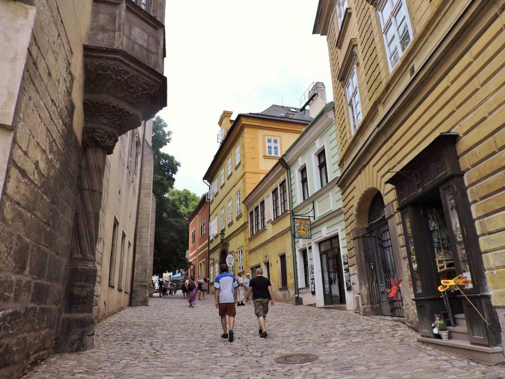 Gassen einer Altstadt