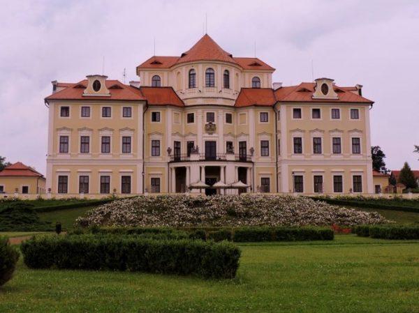 Schloss Liblice in Tschechien, Melnik Weinherbst