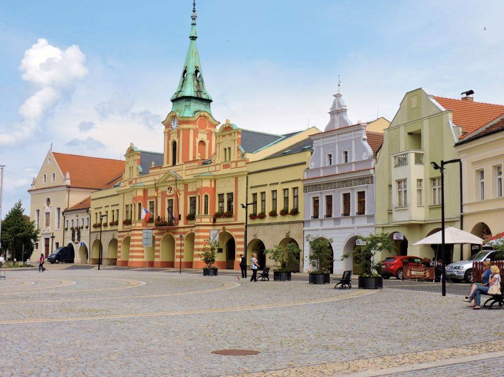 historische Stadt Melnik, Tschechien