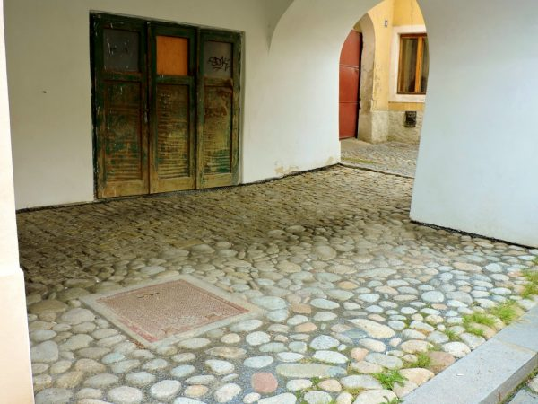historische Pflasterwege Tschechien