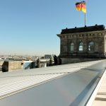 Reichstag Berlin von oben