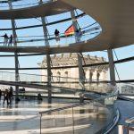 Reichstags kuppel von Berlin