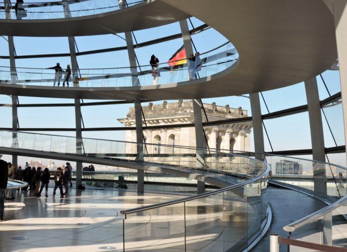 Glaskuppel in Berlin