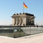 Blick vom Reichstag in Berlin