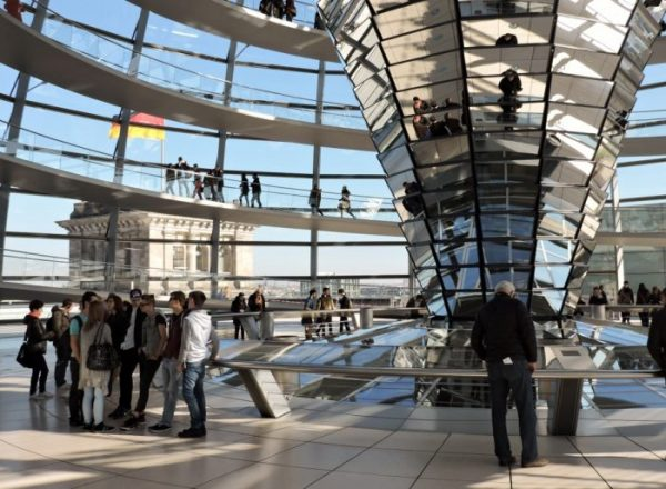 Reichstagsgebäude kuppel innenBerlin