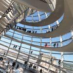 Das Reichstagsgebäude in Berlin - Fotos