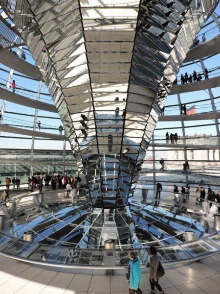Innenansicht ReichstagsgebäudeBerlin