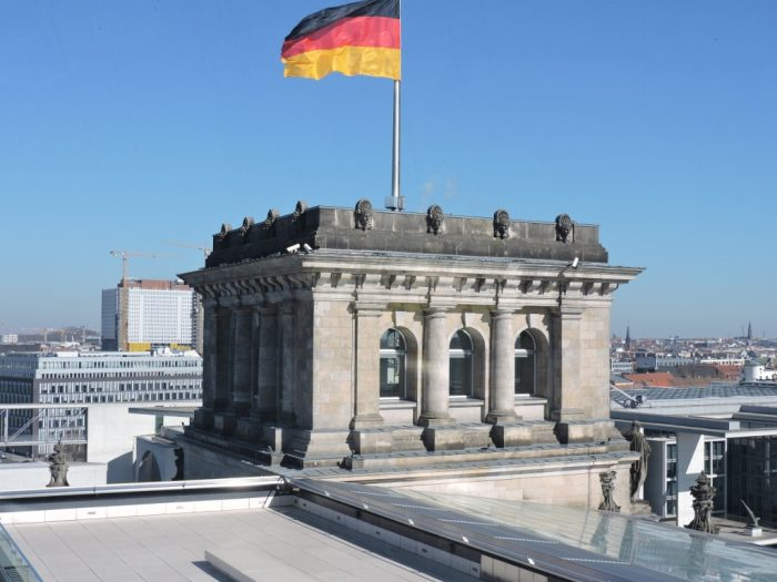 Ausblick vom Reichstag_Berlin