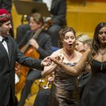 Opern Aufführung der Festspiele Salzburg