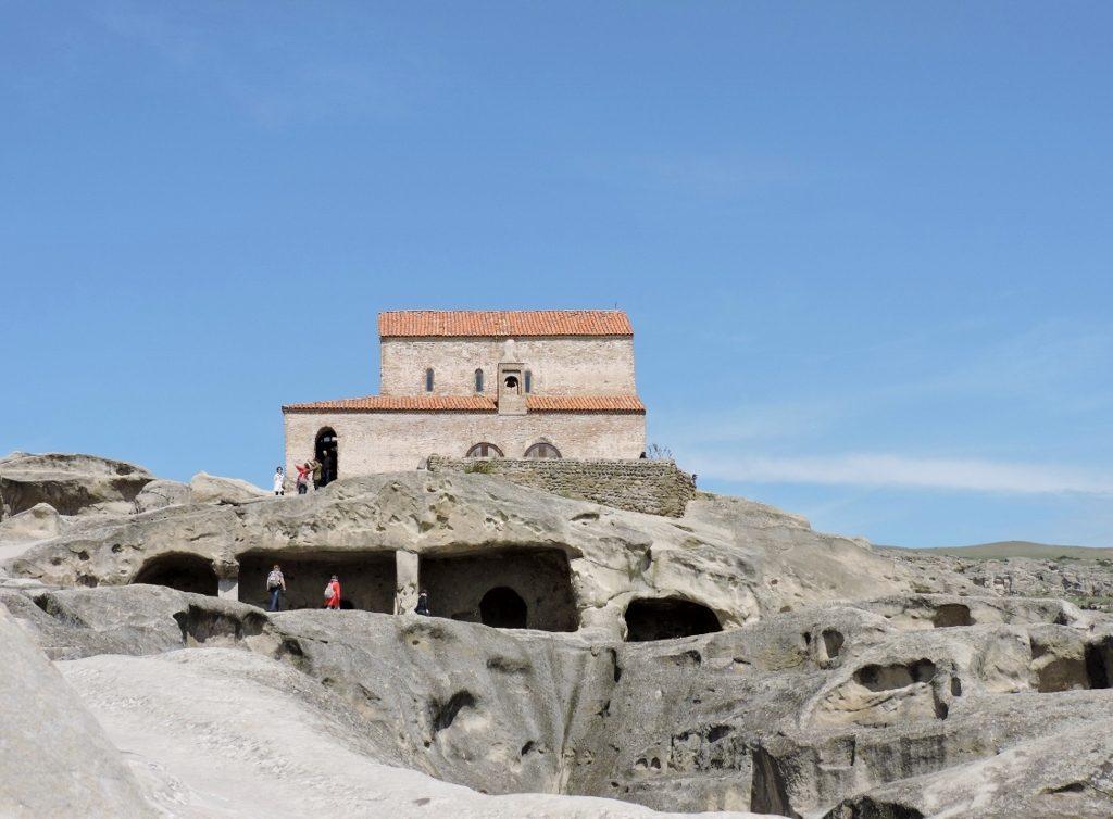 Höhlenstadt Uplisziche und Stalin-Verehrung
