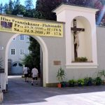 Klostergarten in Salzburgs Altstadt