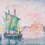 Pointillismus Kunst Bild