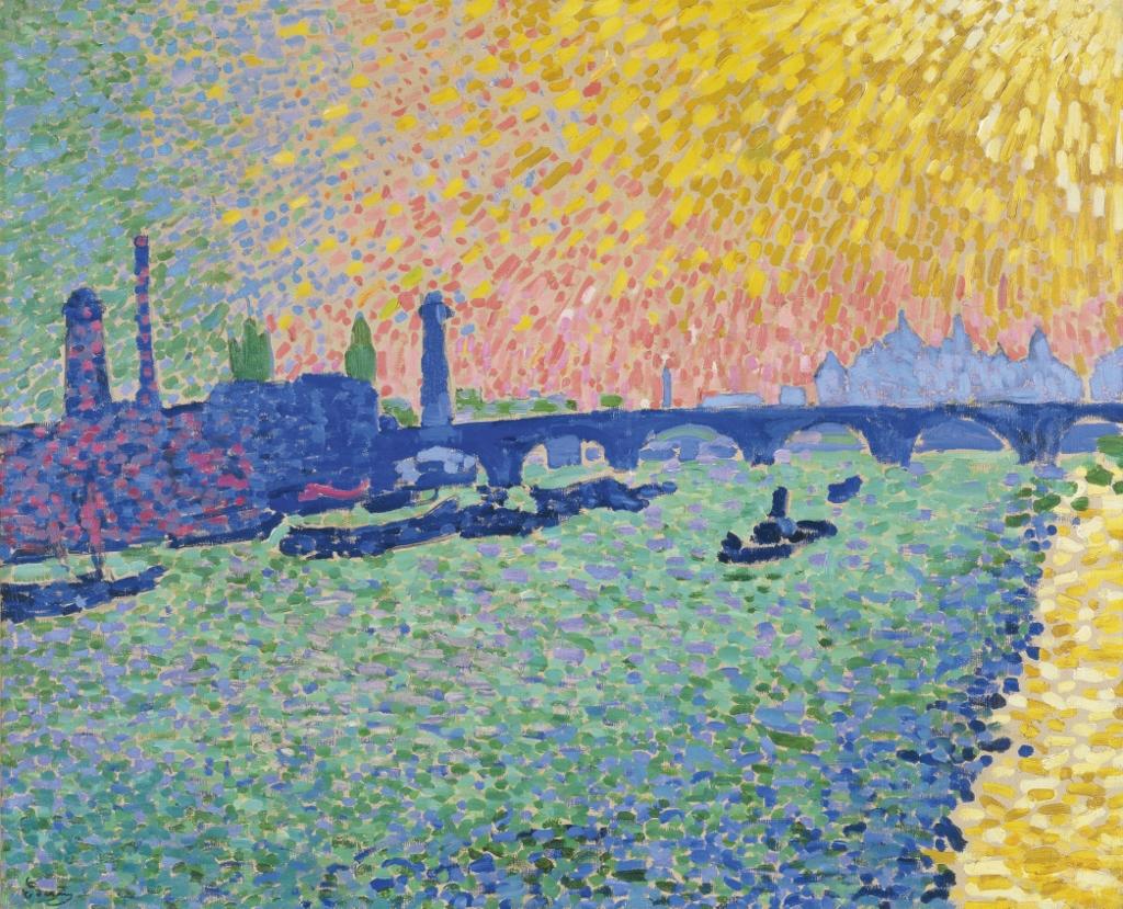 Pointillismus - Die Kunst der Punkte in Wien