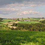 grüne Landschaft für Wandern und Heilkunst