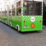 grüner Stadtbus