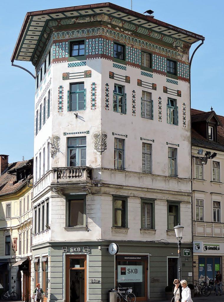 Jugendstil Architektur in Ljubljana