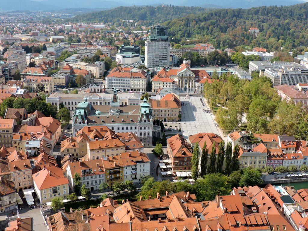 Ljubljana Slowenien - so urban und grün!