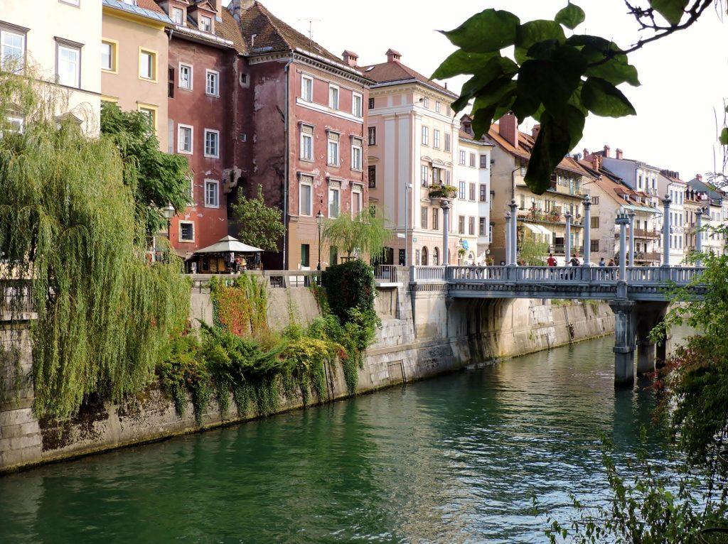 Ljubljana grün und urban