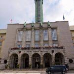 Rathaus Gebäude von Ostrau mit Turm