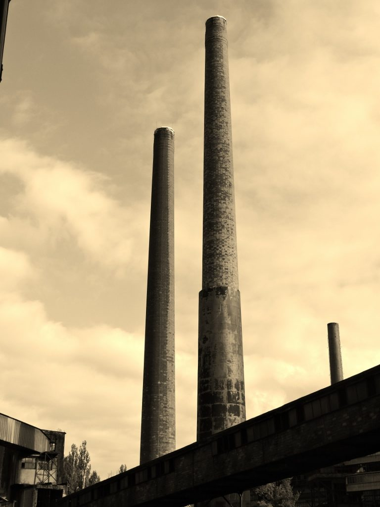 Industrie in Ostrava_Tschechien