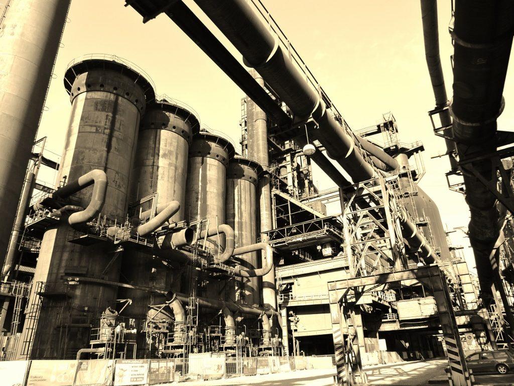 Industrieanlage in Ostrava_Tschechien